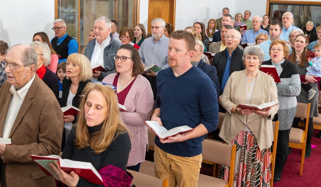 We use the ELCA's most modern hymnal, Evangelical Lutheran Worship, which includes not only traditional hymns but also global songs, praise music, and more contemporary compositions. And at LCOS, we love music, so songs and hymns are scattered throughout our liturgy.